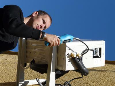 pose pompe a chaleur Antibes